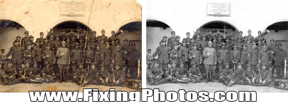 Photo Repair Service. We Fix Your Old Photos! www.fixingphotos.com/ Since 2003 We Have Been Fixing & Repairing Damaged, Old Photos. MBG!