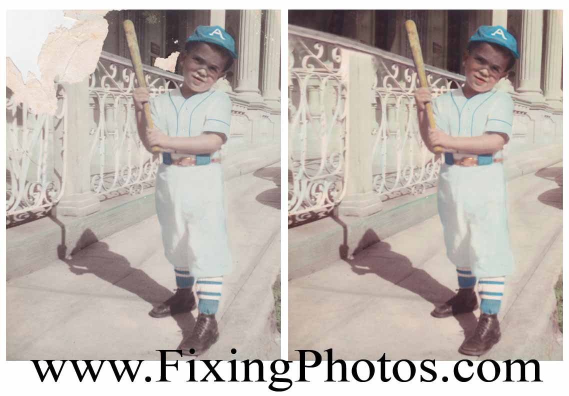 Photo Repair, Color Corrections, Color Touch Ups. We Do It All. Visit www.fixingphotos.com And Get A Free Photo Repair Estimate!
