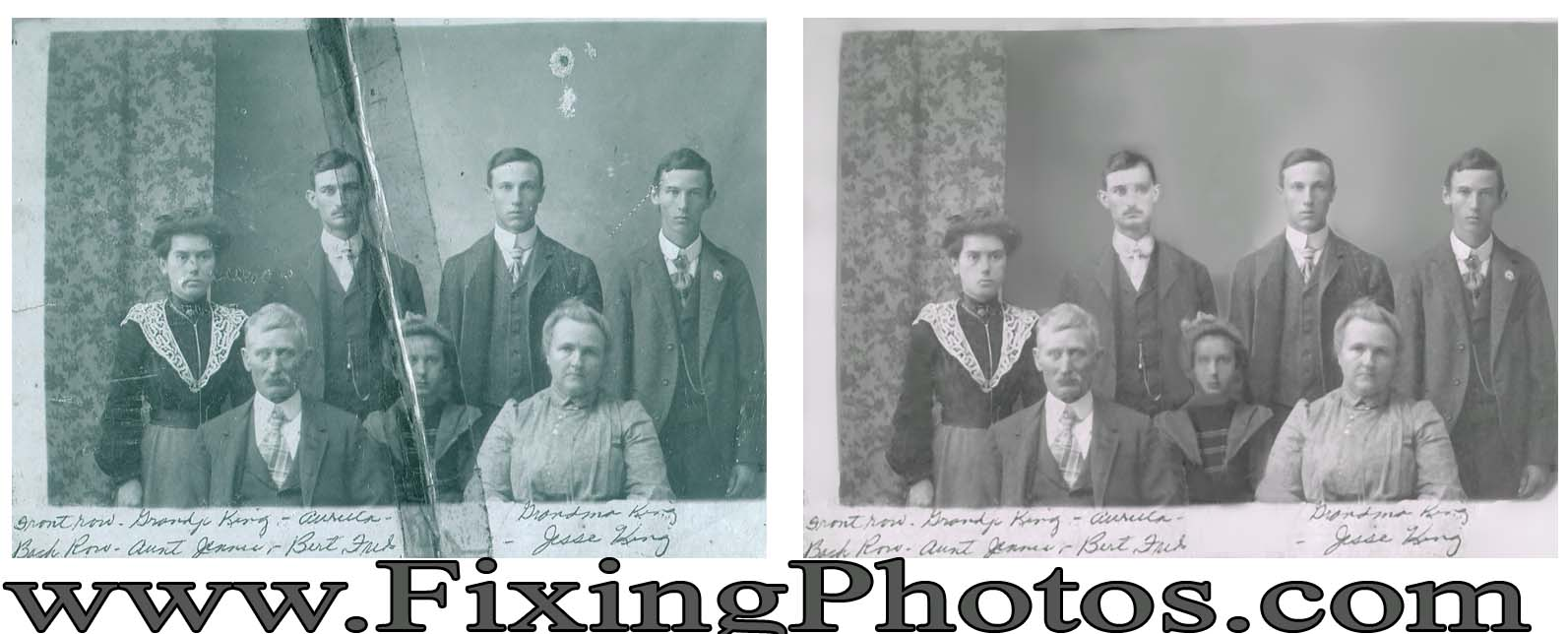 Photo Repair Wizards That Will Restore Your Baby Photos Visit us at www.fixingphotos.com For A Free Photo Repair Quote!