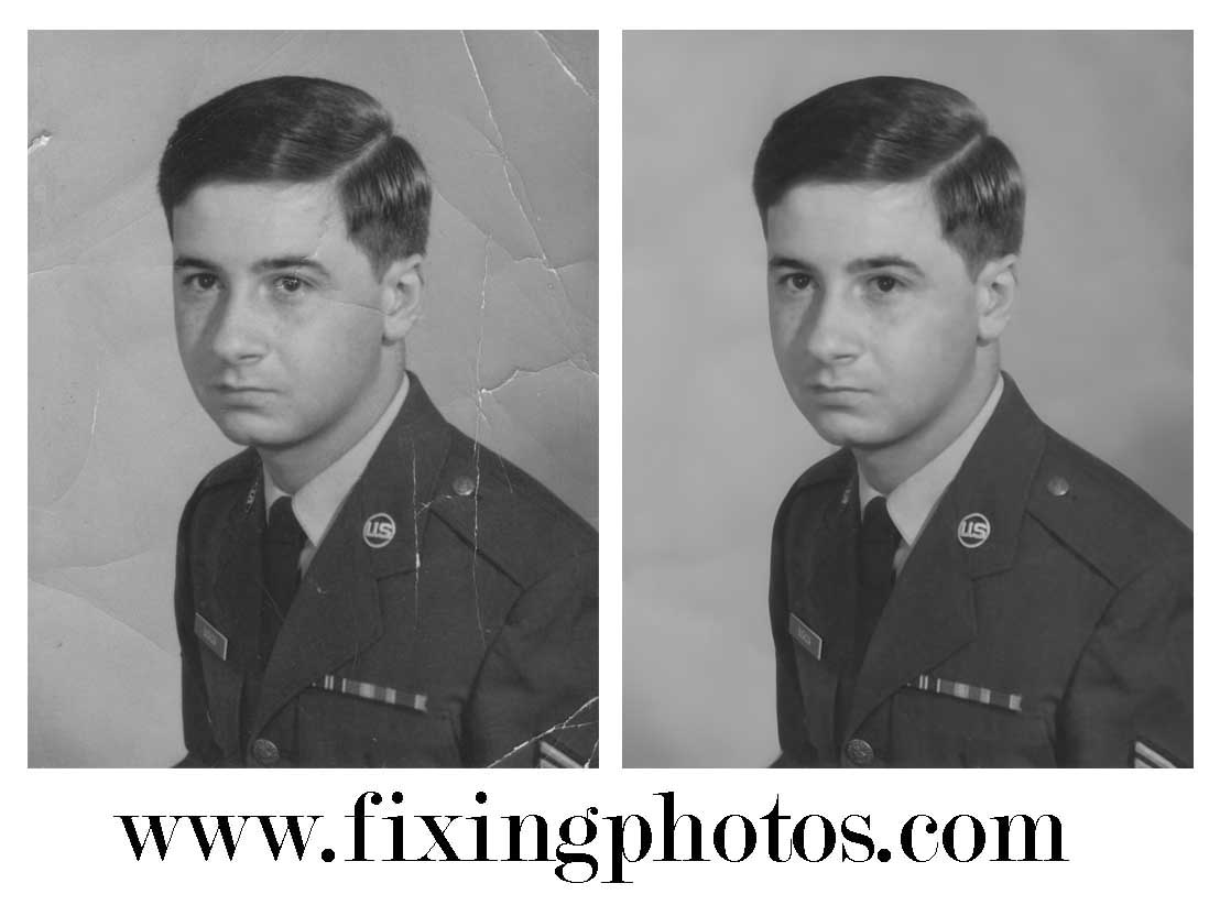 Photo Repair Service Since 2003. Our Photo Repair Work Is 100% guaranteed. Visit www.fixingphotos.com  Free Photo Repair Quotes!  #photorepair #photorestoration