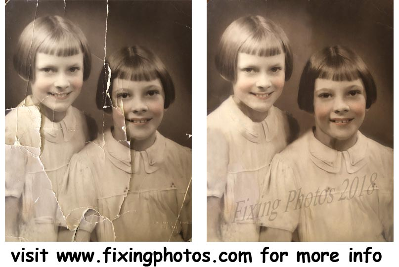 Photo Repair Wizards of Fixing Photos Has Been Fixing Old Damaged Photos Since 2003 Visit https://www.fixingphotos.com If you are not satisfied with the rework, we will refund your money! #photorepair #photorestoration #Anniversarygift #weddingphotorepair