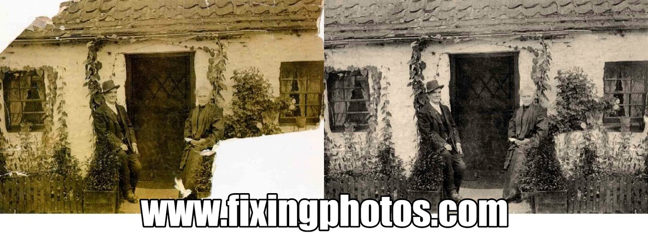 Photo Restoration, Repair old photos, touch ups, images of photo repair