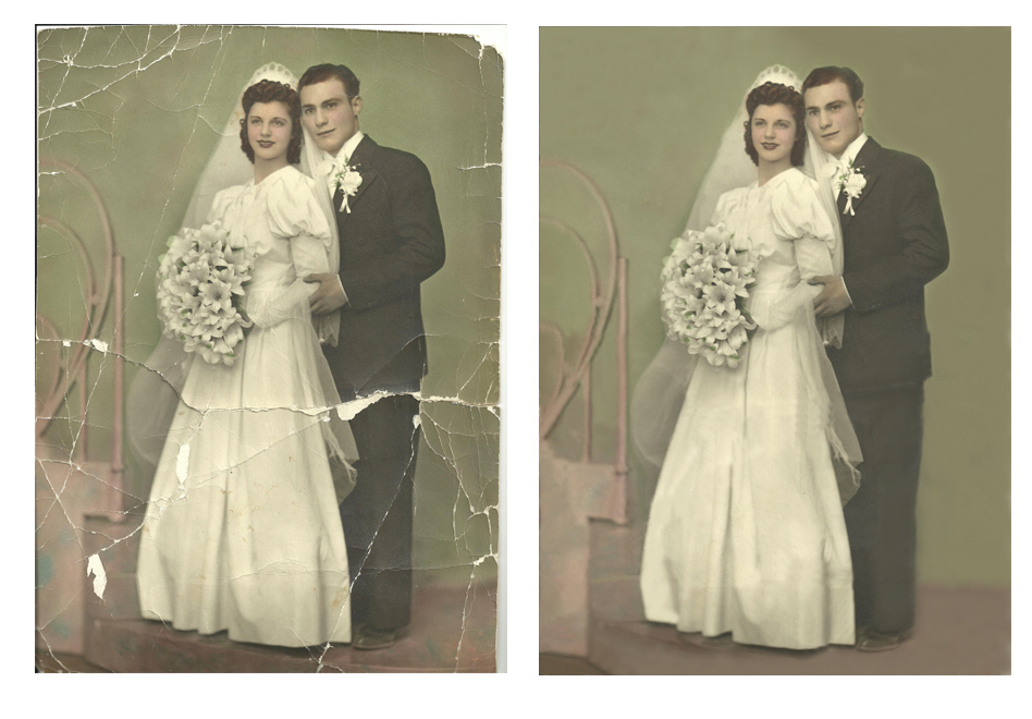 Photo  Restoration,  Photo Repairs,  Photo Retouching