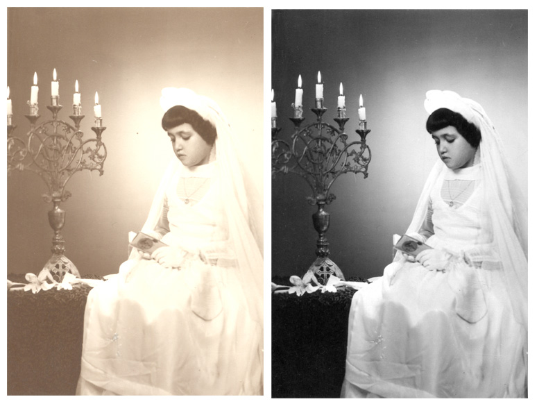 Photo Repair And Photo Restoration Samples of Fixing Photos Retouching Services