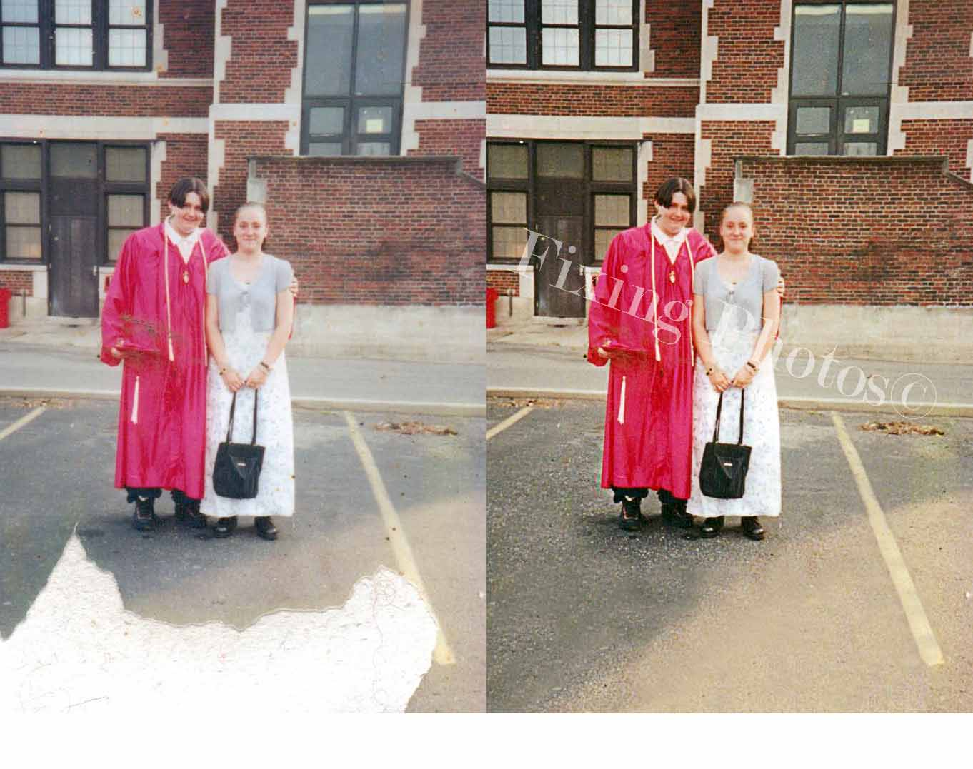 Photo Restoration & Photo Repair Samples